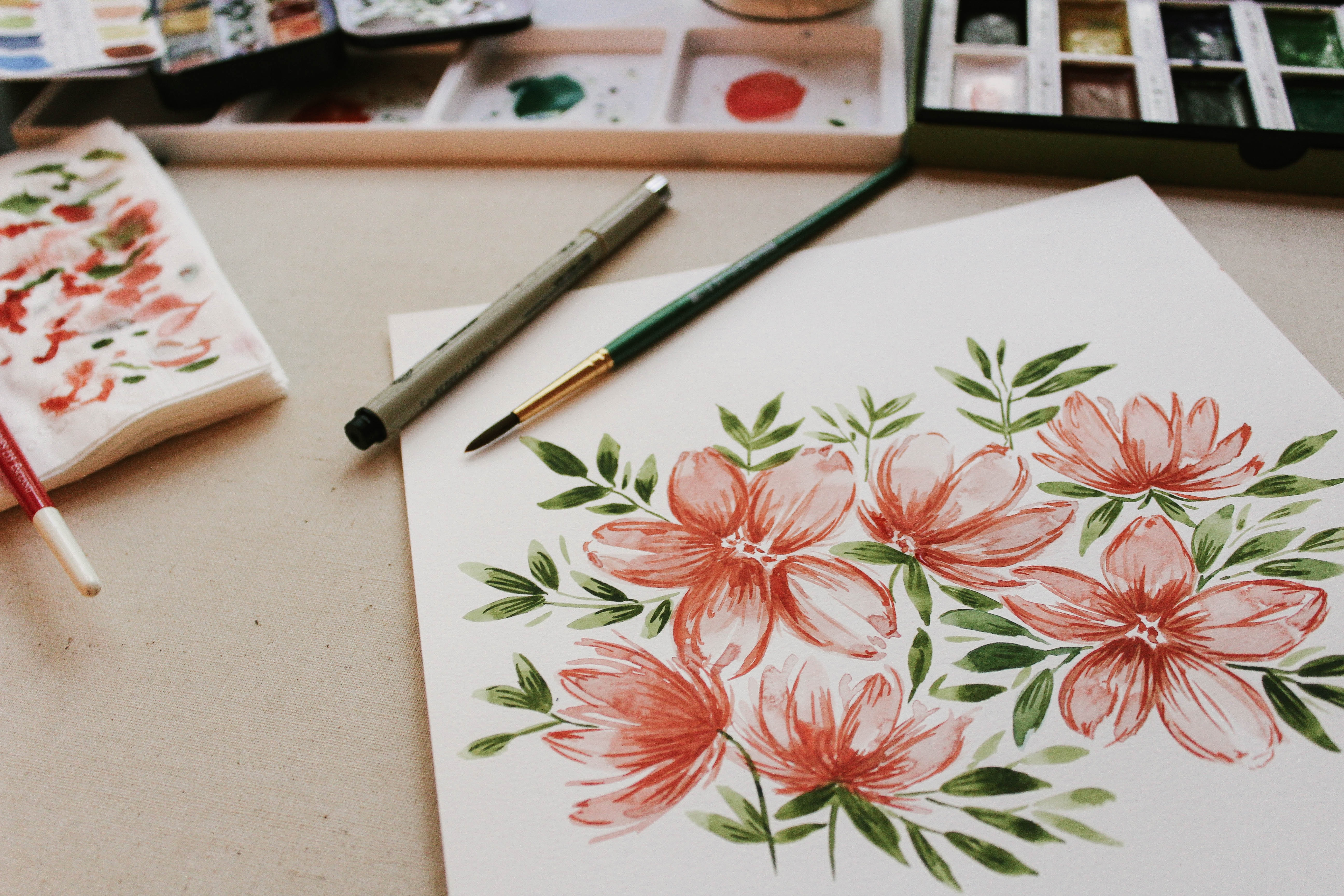 dessin-fleurs